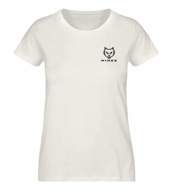 "MINKZ® - Premium Shirt ""Little Kitty"" - Damen Premium Organic Shirt-6881"