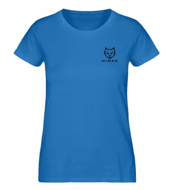 "MINKZ® - Premium Shirt ""Little Kitty"" - Damen Premium Organic Shirt-6886"