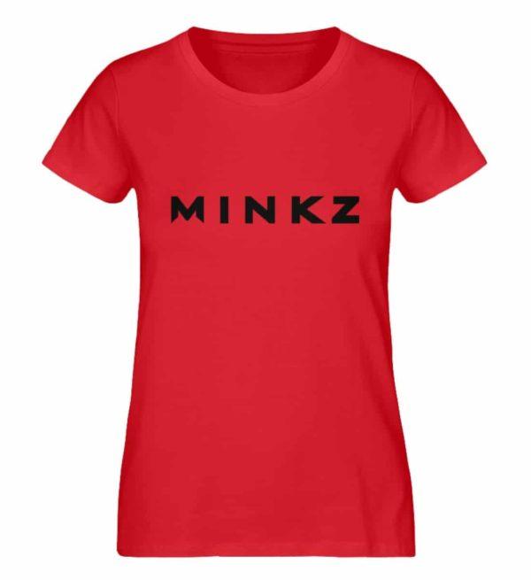 MINKZ® - Premium Shirt - Damen Premium Organic Shirt-6882
