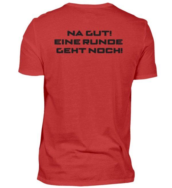 MINKZ® - Eine geht noch! - Herren V-Neck Shirt-4