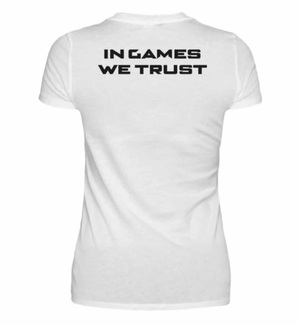 MINKZ® - In games we trust - V-Neck Damenshirt-3