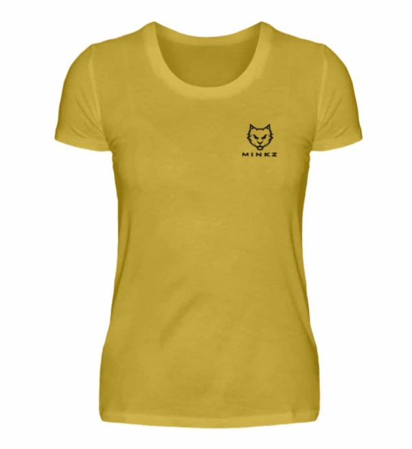 "MINKZ® - Premium Shirt ""Little Kitty"" - Damen Premiumshirt-2980"