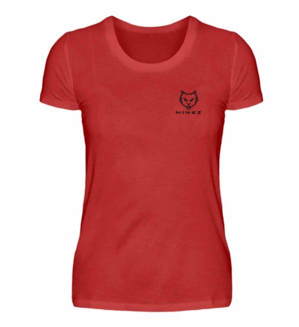 "MINKZ® - Premium Shirt ""Little Kitty"" - Damen Premiumshirt-4"