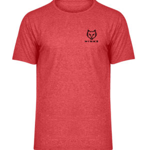 MINKZ® - WTF?! - Herren Melange Shirt-6802