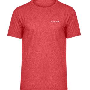 MINKZ® Talentschmiede - Herren Melange Shirt-6802