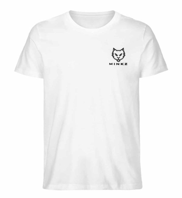 """MINKZ® - Premium Shirt """"Little Kitty"""" - Herren Premium Organic Shirt-3"""