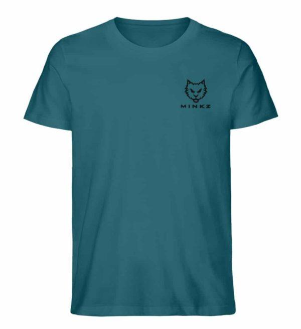 """MINKZ® - Premium Shirt """"Little Kitty"""" - Herren Premium Organic Shirt-6889"""