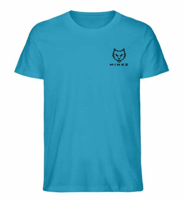 """MINKZ® - Premium Shirt """"Little Kitty"""" - Herren Premium Organic Shirt-6885"""