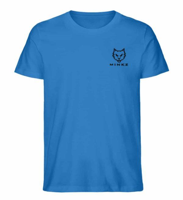 """MINKZ® - Premium Shirt """"Little Kitty"""" - Herren Premium Organic Shirt-6886"""