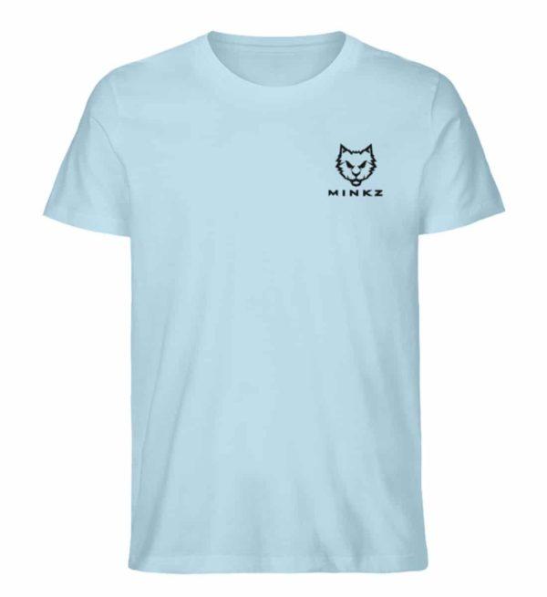 """MINKZ® - Premium Shirt """"Little Kitty"""" - Herren Premium Organic Shirt-6888"""