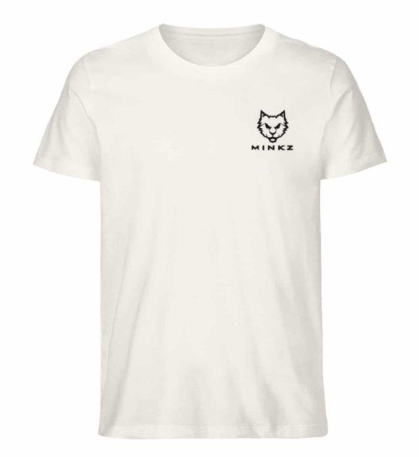 """MINKZ® - Premium Shirt """"Little Kitty"""" - Herren Premium Organic Shirt-6881"""