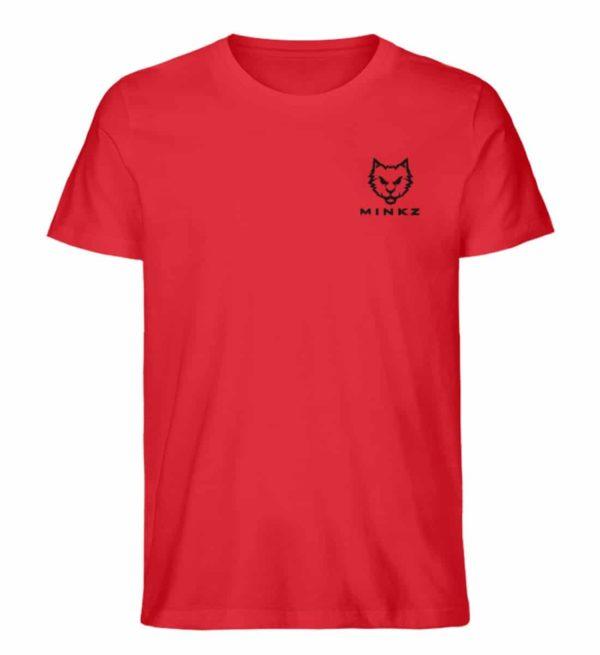 """MINKZ® - Premium Shirt """"Little Kitty"""" - Herren Premium Organic Shirt-6882"""