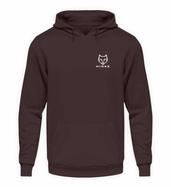 """MINKZ® - Premium Shirt """"Little Kitty - Unisex Kapuzenpullover Hoodie-1604"""
