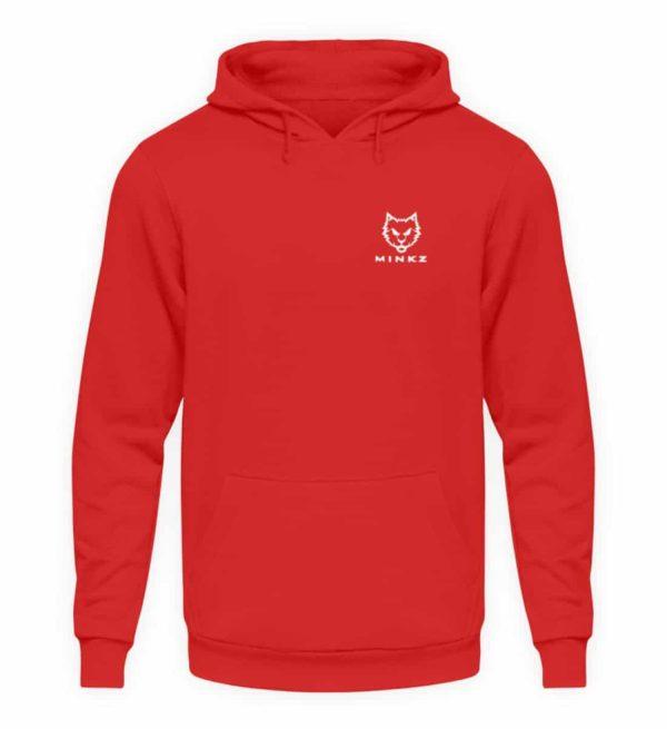 """MINKZ® - Premium Shirt """"Little Kitty - Unisex Kapuzenpullover Hoodie-1565"""