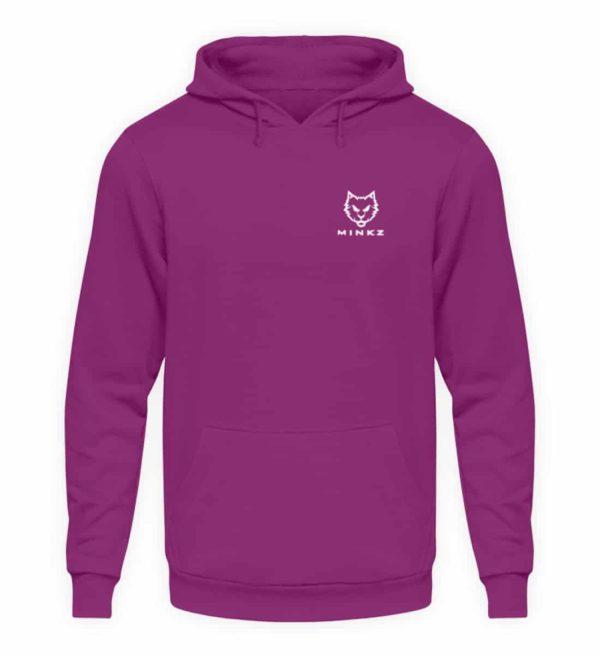 """MINKZ® - Premium Shirt """"Little Kitty - Unisex Kapuzenpullover Hoodie-1658"""