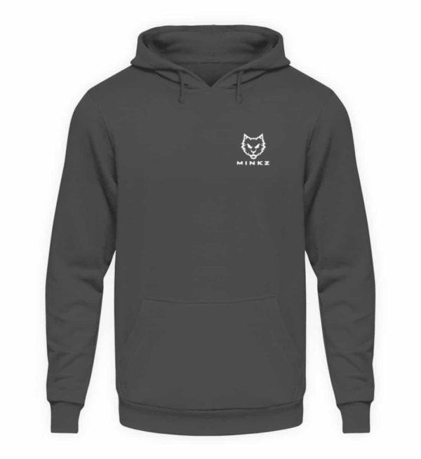 """MINKZ® - Premium Shirt """"Little Kitty - Unisex Kapuzenpullover Hoodie-1762"""
