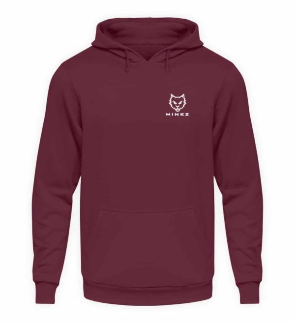 """MINKZ® - Premium Shirt """"Little Kitty - Unisex Kapuzenpullover Hoodie-839"""
