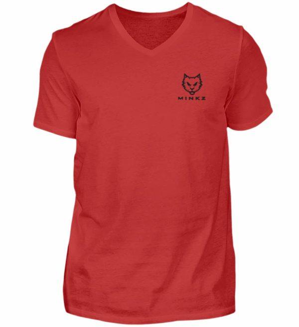 MINKZ® - In games we trust - Herren V-Neck Shirt-4
