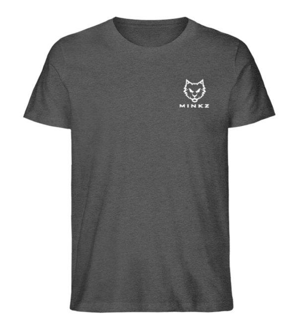 """MINKZ® - Premium Shirt """"Little Kitty"""" - Herren Premium Organic Shirt-6898"""