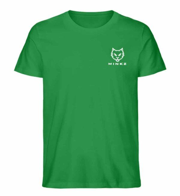 """MINKZ® - Premium Shirt """"Little Kitty"""" - Herren Premium Organic Shirt-6890"""