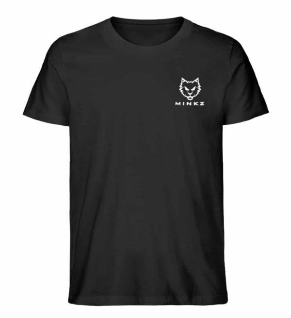 """MINKZ® - Premium Shirt """"Little Kitty"""" - Herren Premium Organic Shirt-16"""