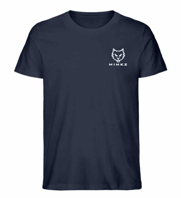 """MINKZ® - Premium Shirt """"Little Kitty"""" - Herren Premium Organic Shirt-6887"""