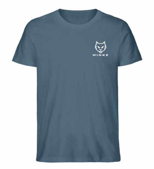 """MINKZ® - Premium Shirt """"Little Kitty"""" - Herren Premium Organic Shirt-6895"""