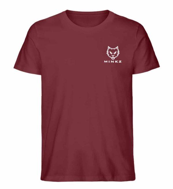 """MINKZ® - Premium Shirt """"Little Kitty"""" - Herren Premium Organic Shirt-6883"""