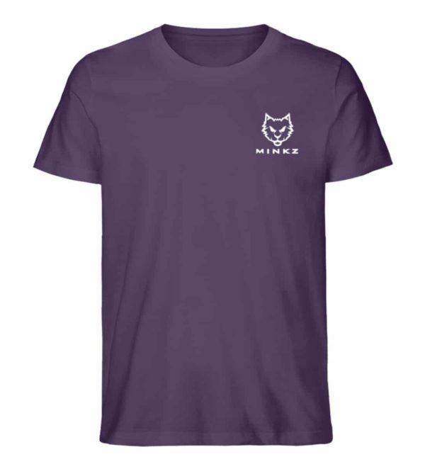 """MINKZ® - Premium Shirt """"Little Kitty"""" - Herren Premium Organic Shirt-6884"""