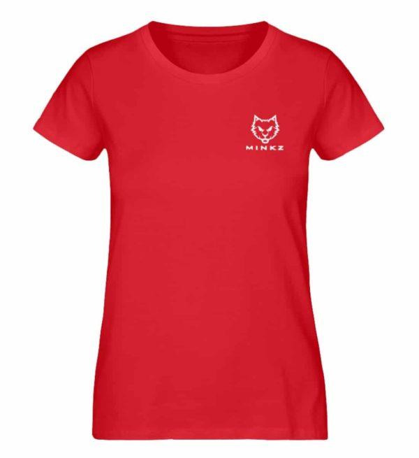 "MINKZ® - Premium Shirt ""Little Kitty"" - Damen Premium Organic Shirt-6882"