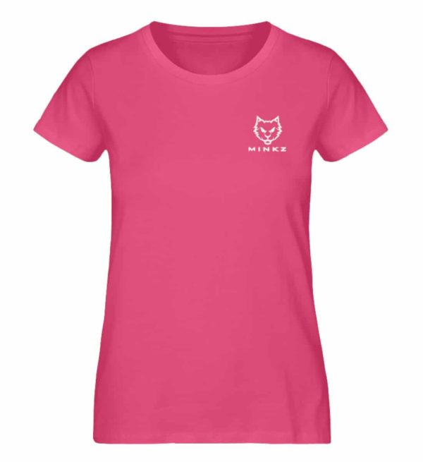 "MINKZ® - Premium Shirt ""Little Kitty"" - Damen Premium Organic Shirt-6930"
