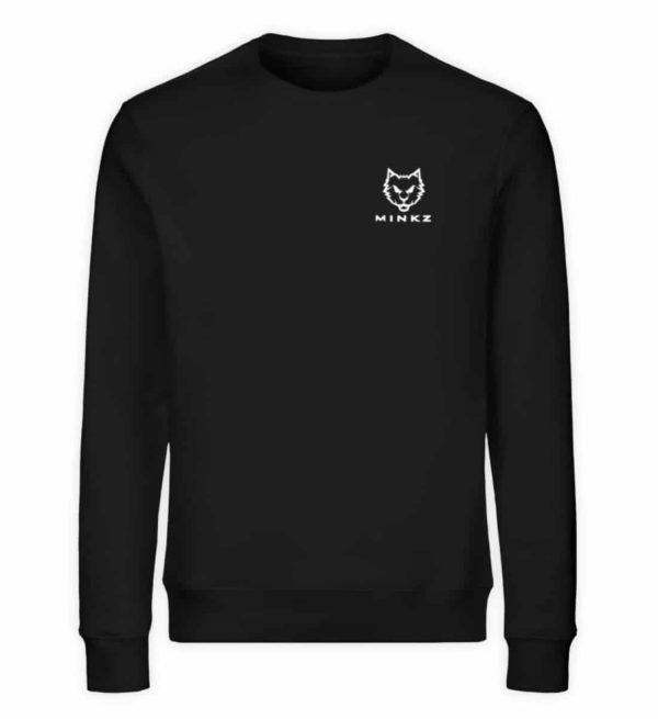 "MINKZ® - Premium Shirt ""Little Kitty - Unisex Organic Sweatshirt-16"