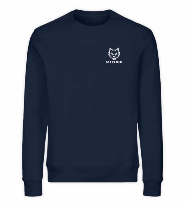 "MINKZ® - Premium Shirt ""Little Kitty - Unisex Organic Sweatshirt-6887"