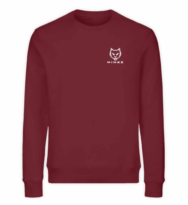 "MINKZ® - Premium Shirt ""Little Kitty - Unisex Organic Sweatshirt-6883"
