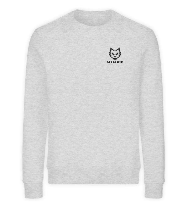 "MINKZ® - Premium Shirt ""Little Kitty"" - Unisex Organic Sweatshirt-6892"