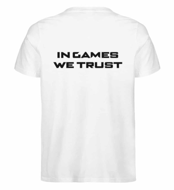 MINKZ® - In games we trust - Herren Premium Organic Shirt-3