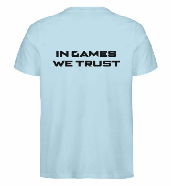 MINKZ® - In games we trust - Herren Premium Organic Shirt-6888