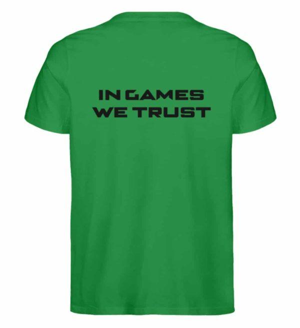 MINKZ® - In games we trust - Herren Premium Organic Shirt-6890