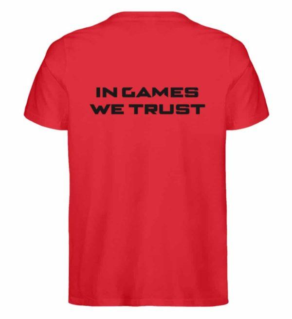 MINKZ® - In games we trust - Herren Premium Organic Shirt-6882