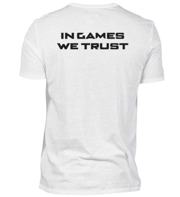 MINKZ® - In games we trust - Herren V-Neck Shirt-3