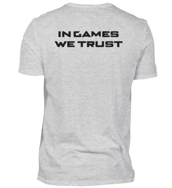 MINKZ® - In games we trust - Herren V-Neck Shirt-236
