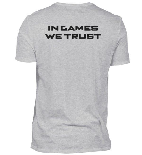MINKZ® - In games we trust - Herren V-Neck Shirt-17