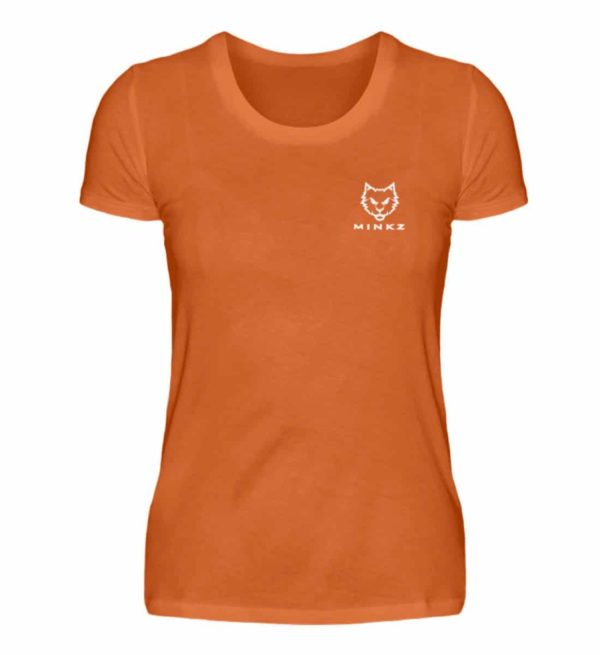 "MINKZ® - Premium Shirt ""Little Kitty"" - Damen Premiumshirt-2953"