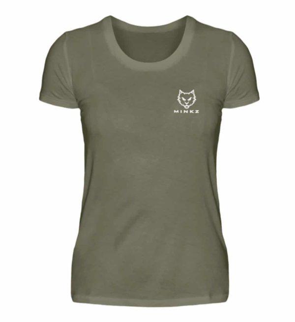 "MINKZ® - Premium Shirt ""Little Kitty"" - Damen Premiumshirt-627"