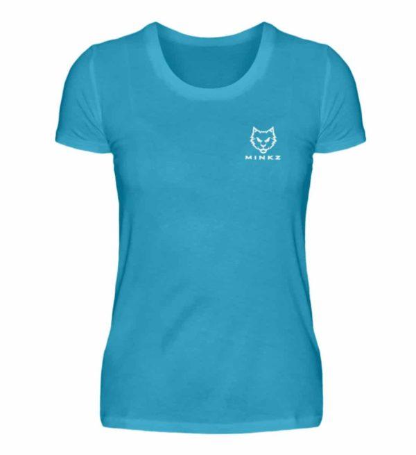 "MINKZ® - Premium Shirt ""Little Kitty"" - Damen Premiumshirt-3175"